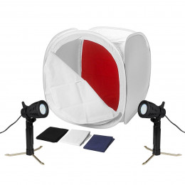 Foto Still Mini Estudio Iluminador LED 220v + Tenda Difusora