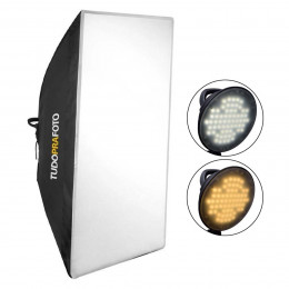 Softbox com LED 50x70 Bicolor