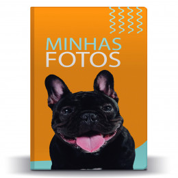 Álbum de Fotos Pet Buldogue Francês p/ 500 Fotos 10x15