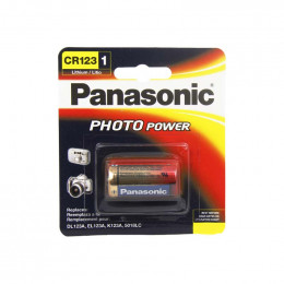 Bateria CR123 Photo Power - Panasonic