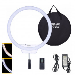 Ring Light Yongnuo LED YN308 Iluminador de Led