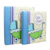 Album do bebe 15x21 e 20x25 azul